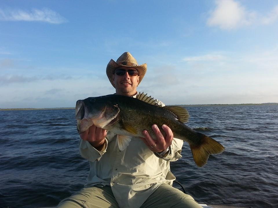 Awesome fishing on lake toho central florida bass guides for Florida lake fish
