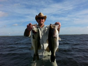 Awesome fishing on lake toho central florida bass guides for Lake kissimmee fishing report